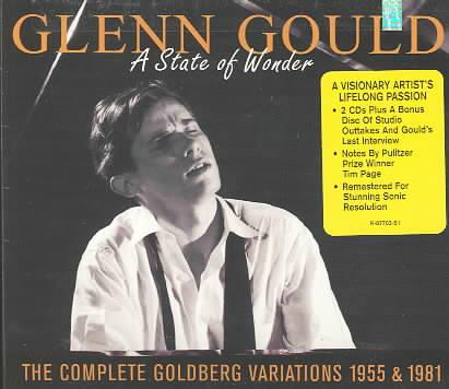 STATE OF WONDER GOLDBERG VARIATIONS BY GOULD,GLENN (CD)